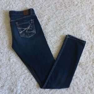 BKE Distressed Stella Skinny Blue Jeans 28